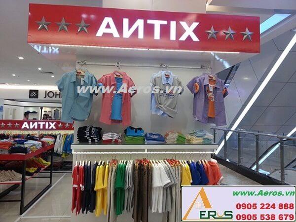 Thi công làm bảng hiệu shop quần áo Antix Cần Thơ