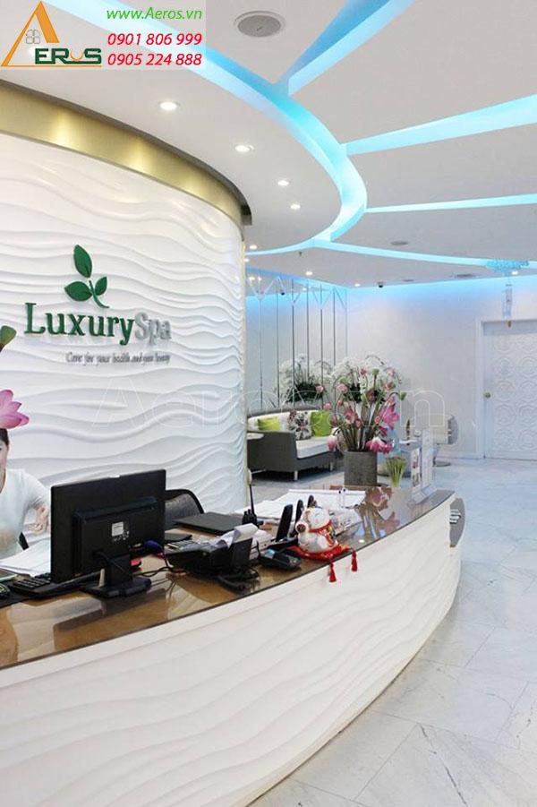 Thiết kế thi công bảng hiệu Spa Luxury tại Phú Nhuận