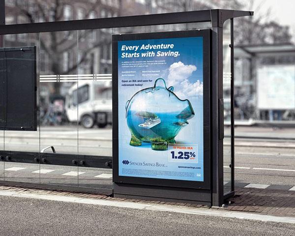 Mẫu biển quảng cáo đứng đẹp