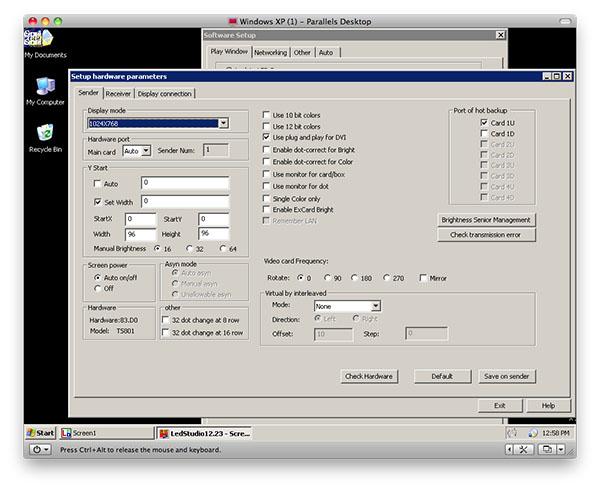 Phần mềm lập trình Led Full