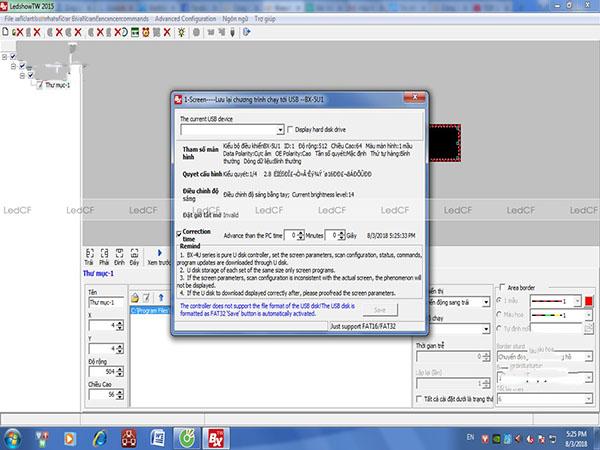 Phần mềm Ledshow
